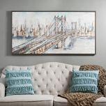 City Bridge Framed Art Print | Kirklands