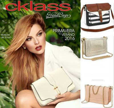 Catalogo cklass bolsas primavera verano 2016. Hojea las carteras de cklass