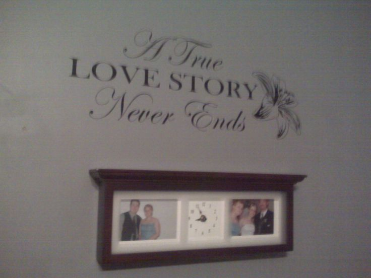 """A True Love Story Never Ends"" $25.00 Available on www.paintitblackcustoms.com"