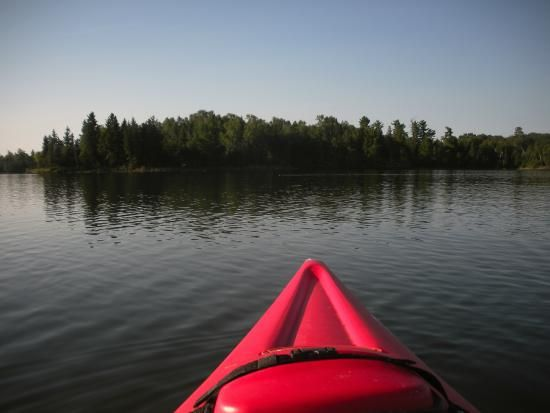 Kayaking on lake of the Woods near Anicinabe Park | 955 Golf Course Road, Kenora, Ontario P9N