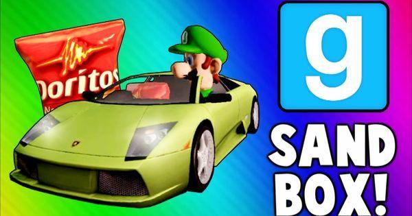 Gmod Sandbox Funny Moments - Driving Test, Banana Gun, Soccer Fun, To th... | vanossgaming | Pinterest | Gmod Sandbox, Driving Test and Funny Moments