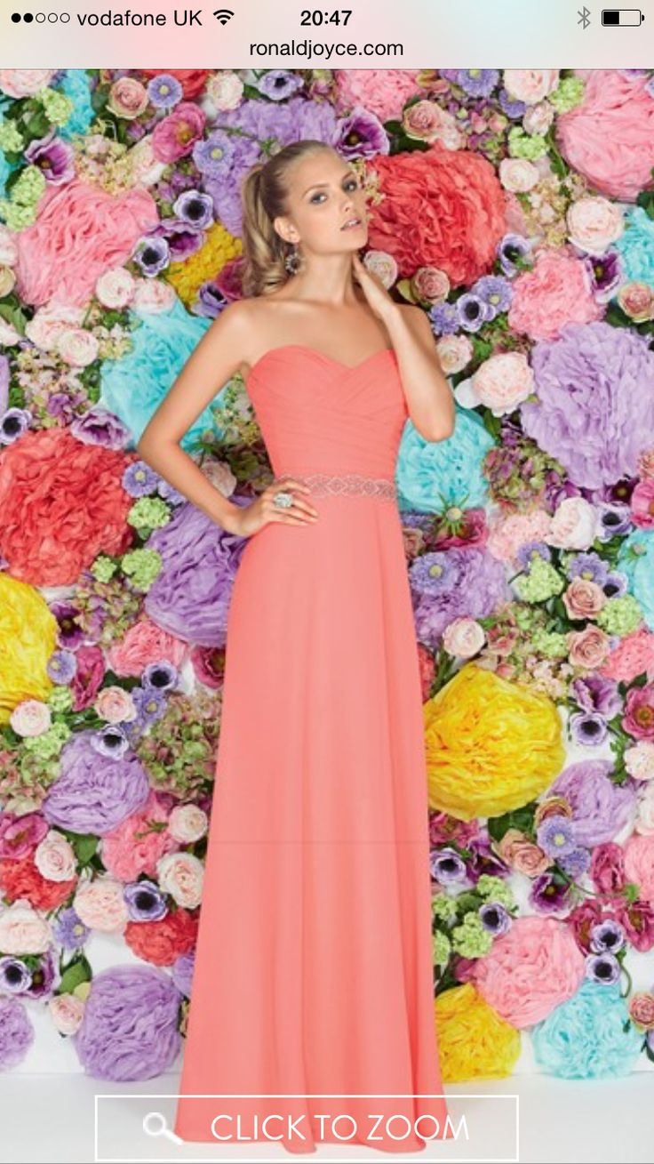 Ronald Joyce bridesmaid dress Irelands only Premier stockist for Mori Lee .. Available from Perfect Day www.perfectdayni.com