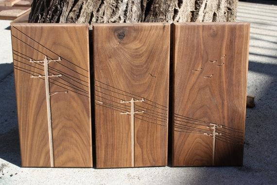 wood art dude.