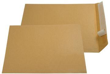 Gallery Bruine zak-enveloppen ft 230 x 310 mm, strip, doos van 250 stuks