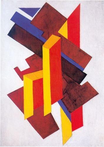 Non-Objective Composition (Suprematism) - Olga Rozanova