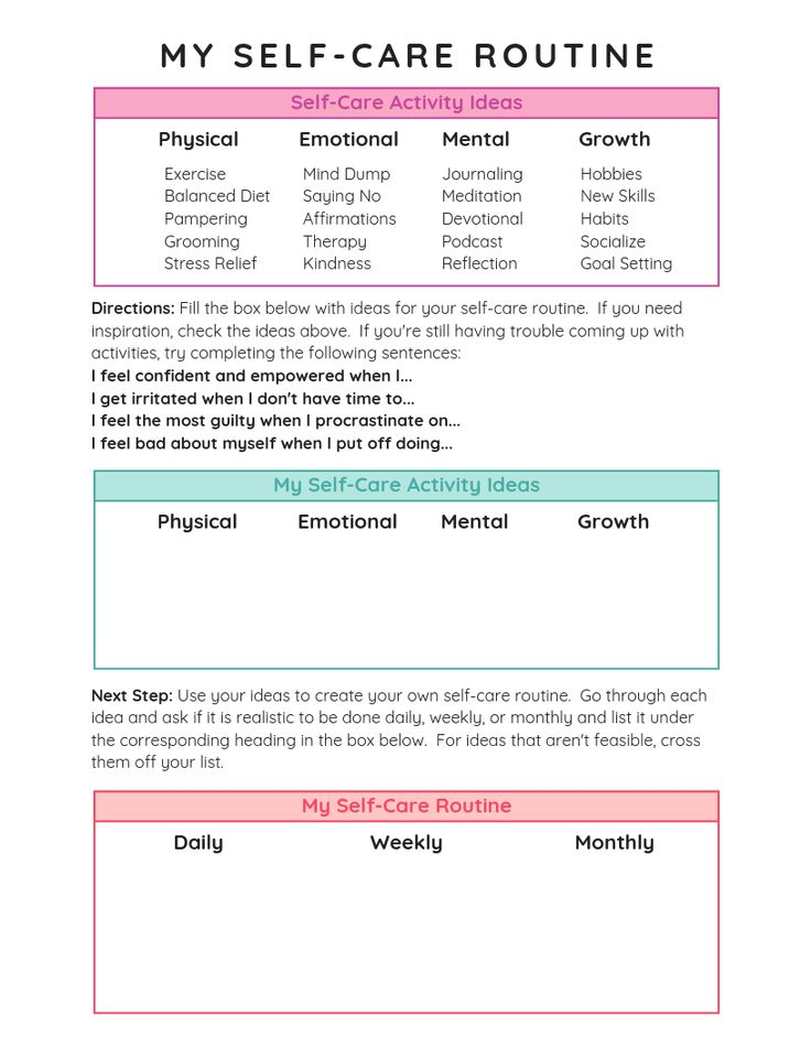 How to Create a Self Care Routine You'll Love   Self care ...