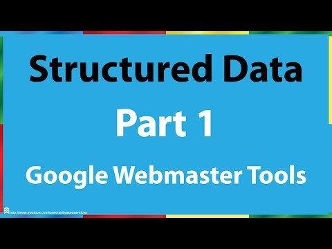 google webmaster tools structured data part 1 potential google webmaster http