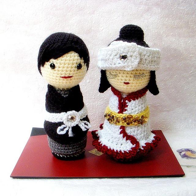 92 best images about Amigurumi Kokeshi ASIAN Dolls on ...