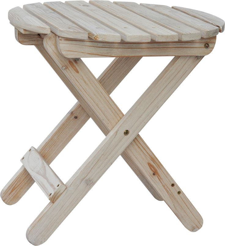 Awesome Shine Company Rustic Round Cedar Folding Side Table   A Handy Accent Piece  When You Need It, The Shine Company Rustic Round Cedar Folding Side Table  Folds ...