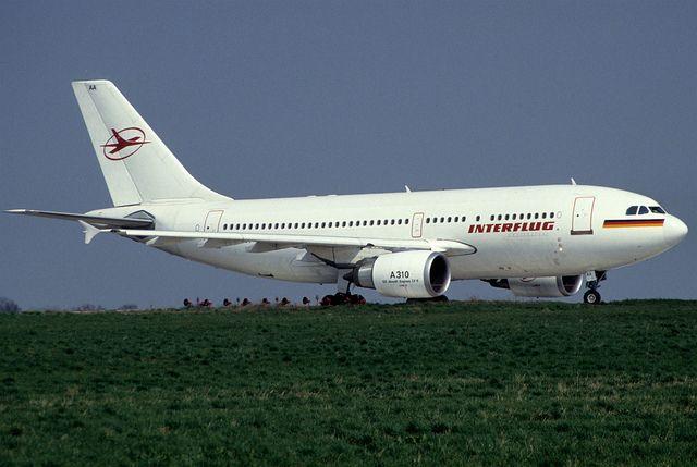 airlines interflug | Interflug Airbus A310-304; D-AOAA, October 1990/ CDF | Flickr - Photo ...