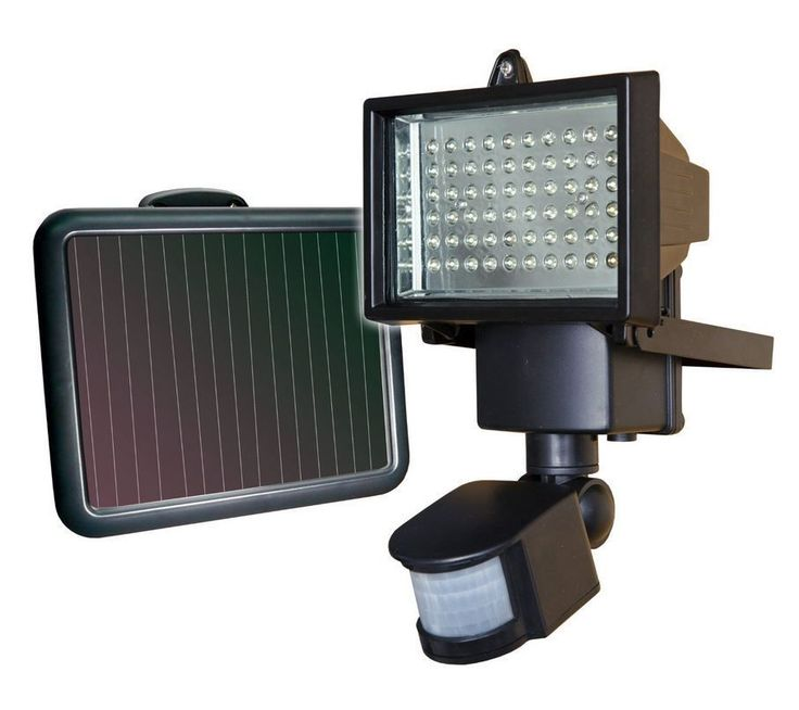 Solar Motion Light LED Security Sensor Modern Home Surveillance House Floodlight | eBay