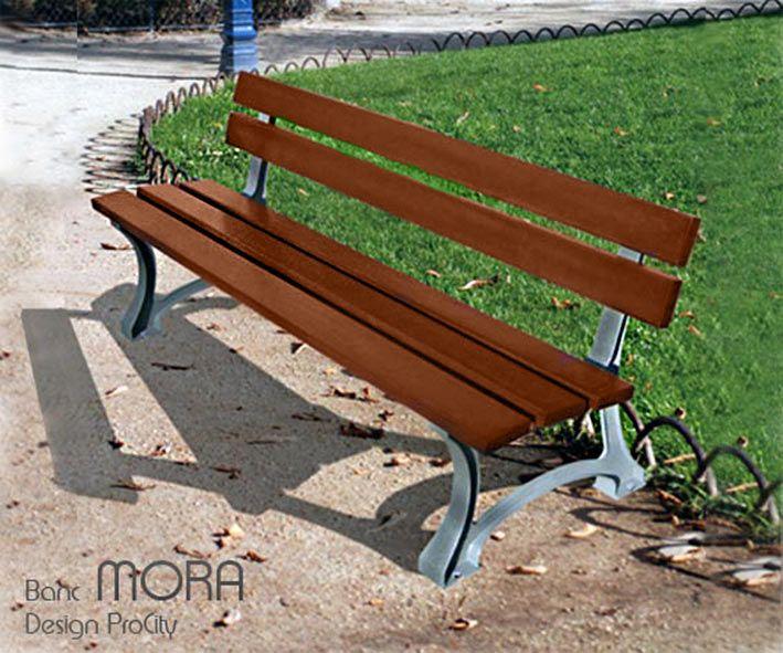 Banc MORA, Fonte et Pin, L 180 cm, ProCity