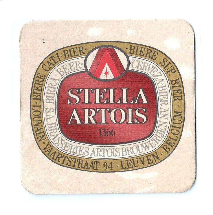 Stella Vintage Beer Mat Vintage Beer Mats Stella
