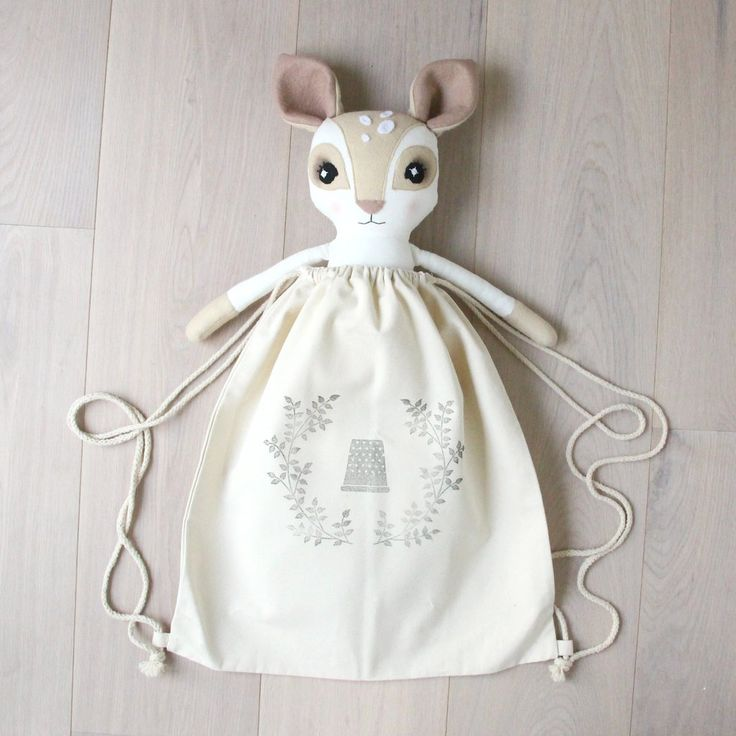 Thicket & Timble Adorable Handmade Limited Edition Dolls With Love From London.