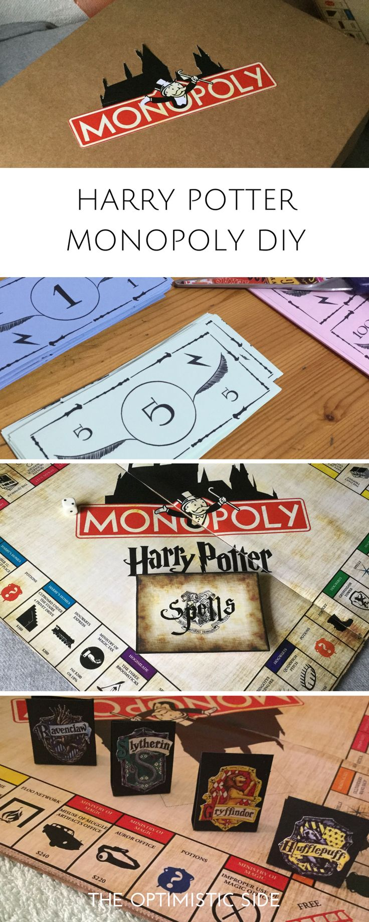 337 best images about harry and ginny on pinterest harry birthday - Regalo Diy Harry Potter Monopoly Para Amigo Amiga Novio Novia Fans