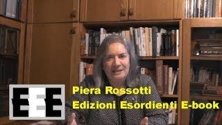 YouTube Video di scrittura creativa di Piera Rossotti