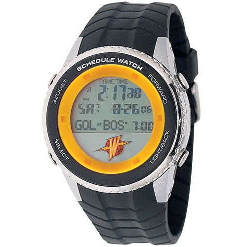 Golden State Warriors Schedule Watch, only $99.95 at MyTeamBling.com. http://www.myteambling.com/golden-state-warriors-schedule-watch.html... #goldenstatewarriors #goldenstatewarriorsjewelryandwatches #goldenstatewarriorsschedulewatch
