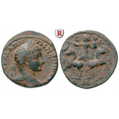 Römische Provinzialprägungen, Seleukis und Pieria, Balanea Leukas, Elagabal, Bronze, ss: Seleukis und Pieria, Balanea Leukas. Bronze… #coins