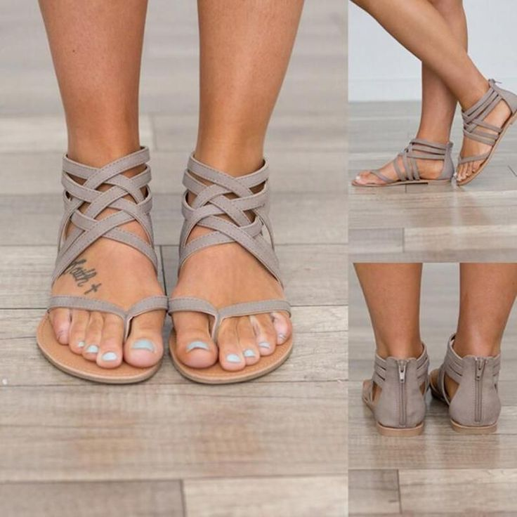 Classic Strappy Sandals #WomensShoe