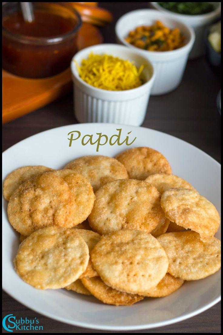 Homemade Papdi Recipe | How to make Papdi for Chaats | Papri Recipe | Indian Cracker Recipe