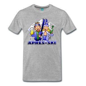 Après-Ski T-shirt en Hoodie shop. #ApresSki #Wintersport #Ski #SPreadshirt