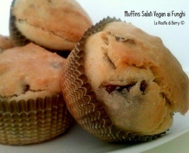 Muffins Salati Vegan ai Funghi