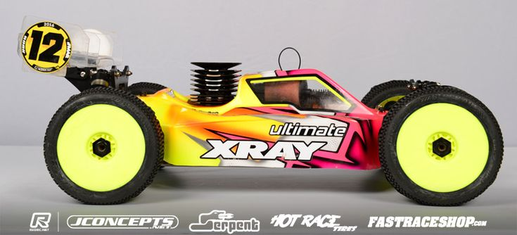 Check out Yannick Aigoin's XRAY XB8 in Red RC Chassis Focus.