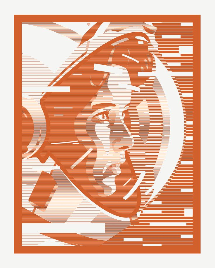 Astronaut 40x50cm via Brenneriveien. Click on the image to see more!