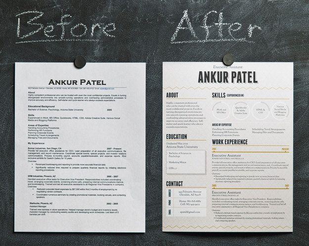 Good Looking, Poorly Functional, Résumé Designs For Stealing   ShockBlast |  Text Design | Pinterest | Graphic Designers