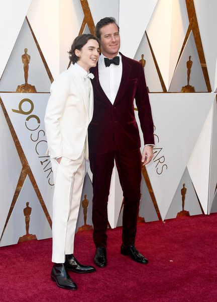 Armie Hammer and Timothee Chalamet - The Most Dapper Men At The 2018 Oscars - Photos