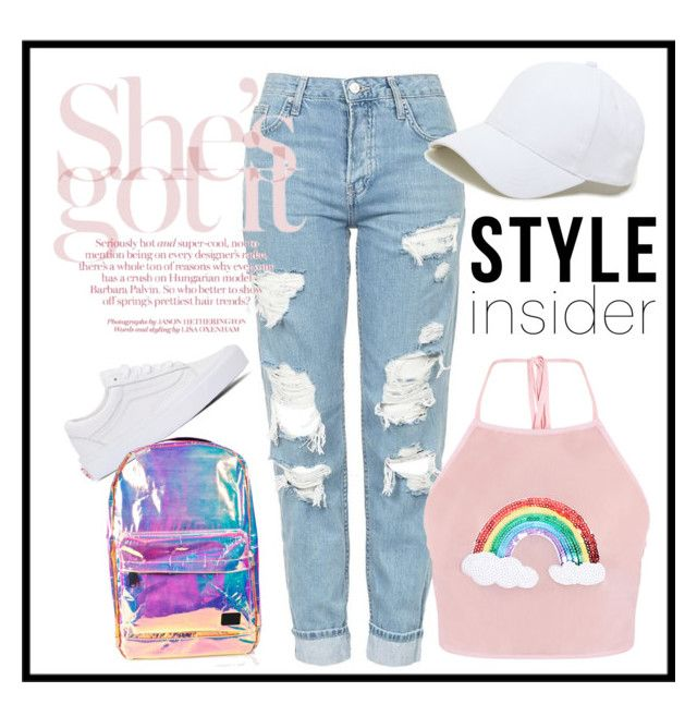 """Casual school"" by alice-isabella on Polyvore featuring moda, Topshop, Vans, Sole Society y Spiral"