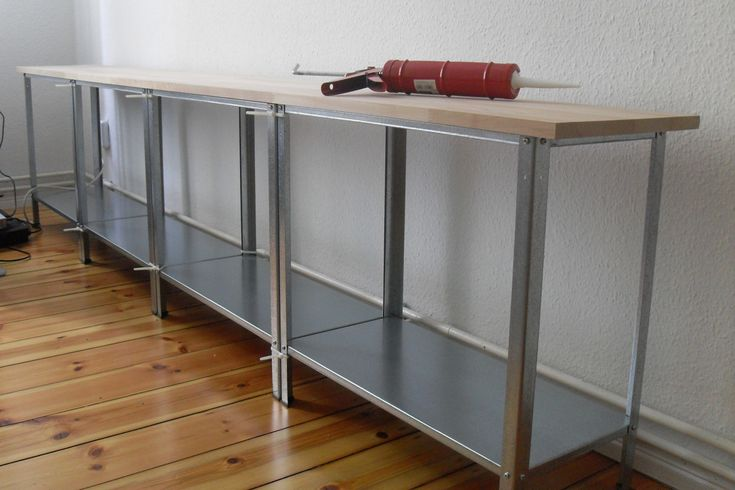 DIY – Sideboard – TV-Regal – IKEA-Hack HYLLIS in 2020 | Tv ...