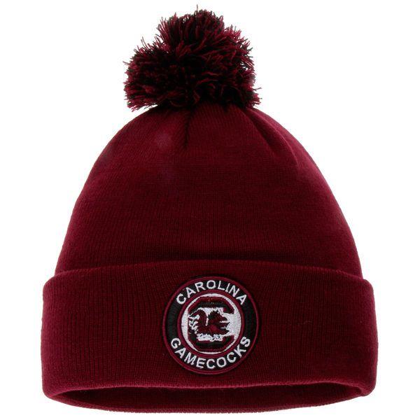 South Carolina Gamecocks Zephyr Seal Cuffed Knit Hat - Garnet - $16.99