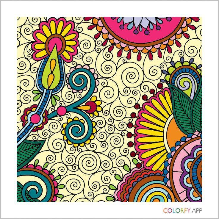 Mejores 11 imágenes de Coloring Book en Pinterest | Libros para ...