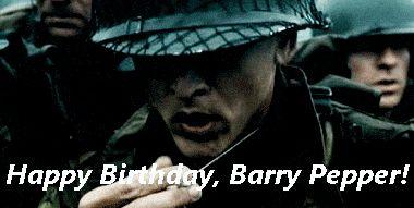 Happy 46th Birthday, Barry Pepper!