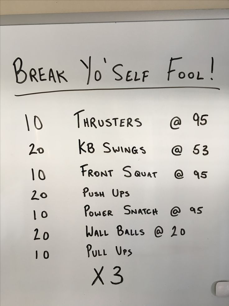 A Friday inspired crossfit workout. Check out our propositions for crossfit workouts that you can do anywhere at crossfit-style.com/crossfit-workouts-that-you-can-do-anywhere/