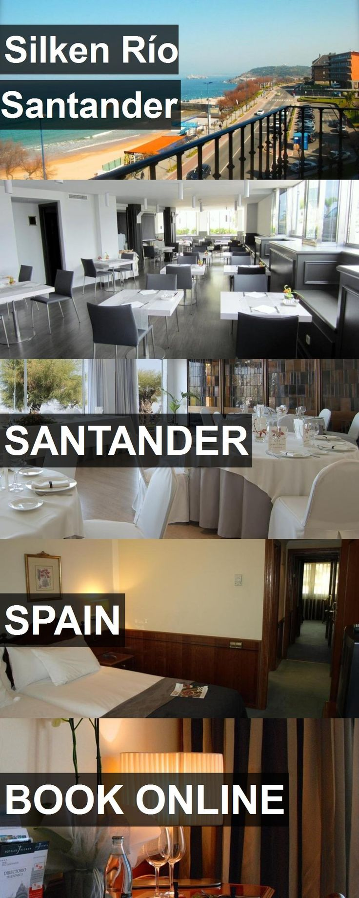 Hotel Silken Río Santander in Santander, Spain. For more information, photos, reviews and best prices please follow the link. #Spain #Santander #travel #vacation #hotel