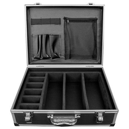 Vincent Small Master Case - Black #VT10143-BK $59.95  Visit www.BarberSalon.com One stop shopping for Professional Barber Supplies, Salon Supplies, Hair & Wigs, Professional Products. GUARANTEE LOW PRICES!!! #barbersupply #barbersupplies #salonsupply #salonsupplies #beautysupply #beautysupplies #hair #wig #deal #promotion #sale #vincent #barbercase