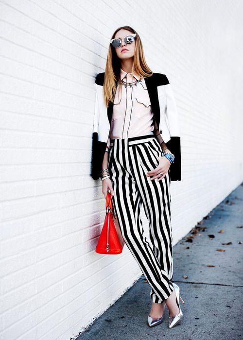 Stripes up.