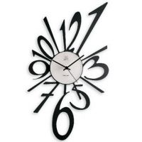 AA Battery Powered Contemporary Acrylic Art Wall Clocks, Outdoor Clock SH-26