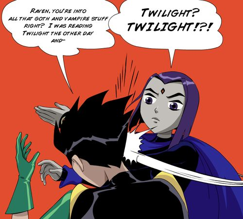 teen titans raven and beast boy | titans, group: teen titans, char:raven/rachel roth, char:beast boy ...