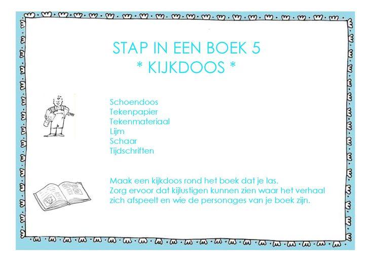 Meer dan 20 stap in een boek-opdrachten voor meer leesplezier!!!