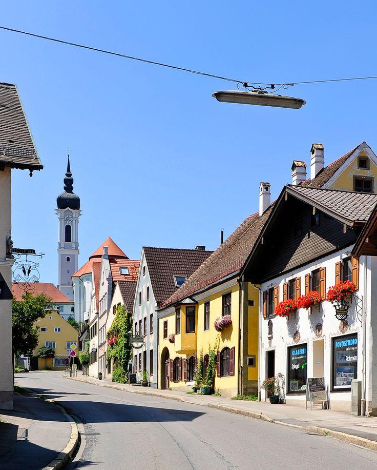 Herrenstraße in Dießen am Ammersee