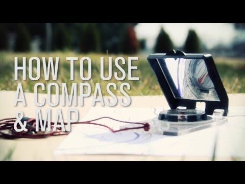 ▶ How to Use a Compass & Map [Compass Navigation Tutorial] | #preparedness #survival #navigation