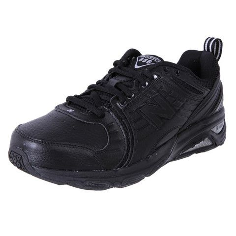 New Balance Men's Extra Wide Leather Cross Trainer MX856BK | The Shoe Link