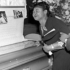 Mamie Till Mobley, mother of Emmett Till, died on January 6, 2003. After seeing her dead son, she decided to let the world see. This sparked the Civil Rights Movement. This is just like deaths of blacks by police brutality started the Black Lives Matter Movement. Thinking of Till's mother back then will surely make you think of Tamir Rice's mother today. A way to show remembrance to Till's mother is to continue the fight against the racist killers.
