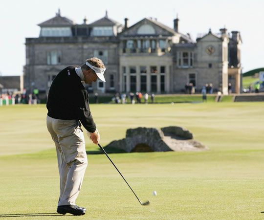 Take my Dad to St. Andrews.