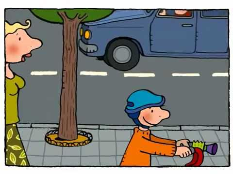Jules en zijn fiets - Animatiefilmpjes - Nieuwe Dag Jules!