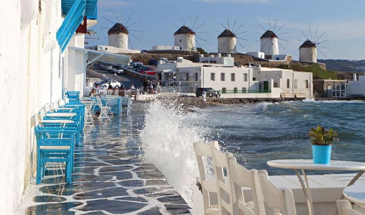 Τhe most popular Greek islands | Discover Greece : Mykonos island in Greece  <3