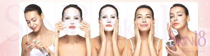 Korean Masks Sheet - lazy girl's facial – skin18com